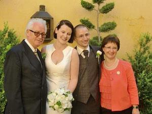 Hochzeit 2012/ Ich-Bettina-Stefan-Sigi