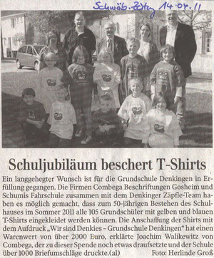 Pressebericht Schwäbische Zeitung