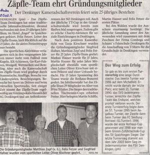 Schwäbische Zeitung 05.03.2011