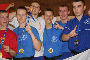 WKC England Boy's Points Team