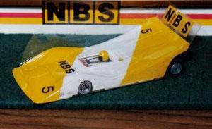 Slot car d'Alan Seymour  1ier en Afrique du Sud en 1984