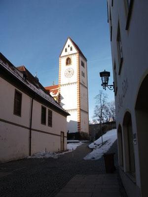 Glockenturm St. Mang Füssen