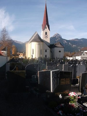 Friedhof in Breitenwang