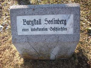 Gedenkstein Seelenberg