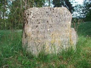 Gedenkstein Mangmühle