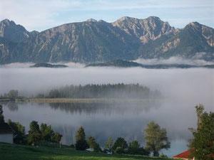 Hopfensee und Tannheimer Berge