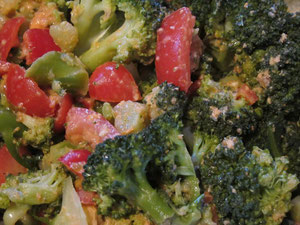 Broccoli-Tomaten-Salat