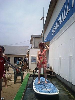 体験スクールは、手ぶらでOK!3800円と、格安コース。女の子も安心!水槽で練習