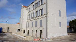 mi-avril 2012 Façade arrière du Château