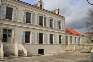 """10 mars 2012 Façade avant du """"Château"""""""