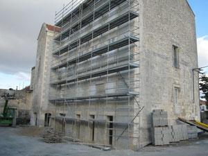 façade arrière, 8 oct 2011