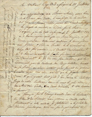 Document original, collection privée, tous droits de reproduction réservés.