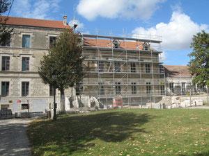 Château, façade avant, le 8 oct 2011