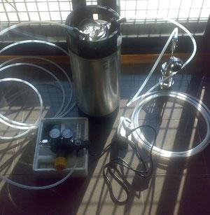 Impianto di Dosaggio Gas Micronizzati , Deodorati - Depurati - a Passaggio di un Liquido