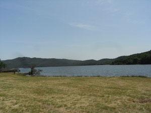 ヘネシー湖の北端ですね。