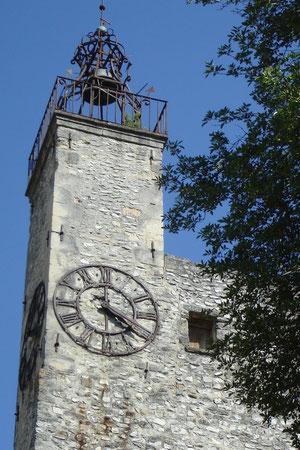 clocher de l'église, ville haute