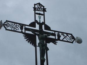 sur le chemin de croix