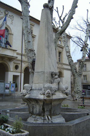 la fontaine des Dauphin