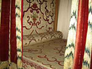 le lit d'Henry IV