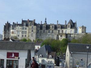 premier arrêt à St Aignan, ancien port fluvial