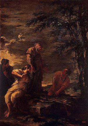 Salvator Rosa, Democrito e Protagora (1663-64), olio su tela, 185 × 128 cm