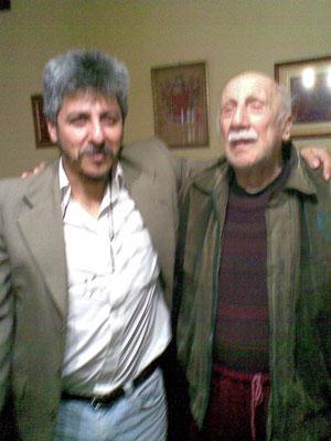 Dr. Enzo Di Tore Director de la revista Acción Cooperativa y Marco Lobos A. Administrador pag. web Coordinadora del Barrio