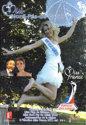 Plaquette Miss 2011