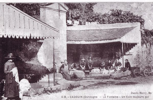 lLe lavoir de Cadouin