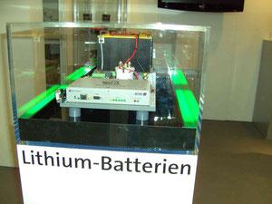 Lithium Batterie mit Laderegelung