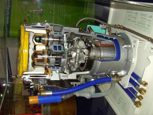 Stirling Motor für BHKW