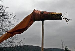 Nachbau eines karolingischen Draco