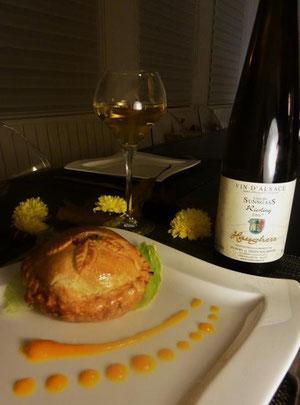 """La photo de la gagnante du concours """"Alsacez votre table"""""""