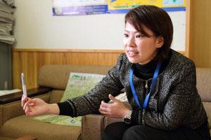 「バイオマスに精通したツアーガイドを育成するのも課題」と真庭観光連盟の眞柴幸子さん