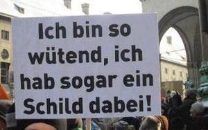 So sieht Revolution in Deutschland aus.