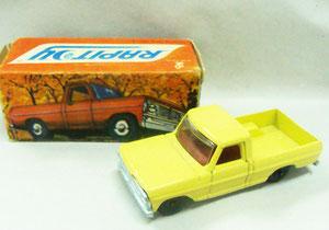 Número 2. Nuevamente la Ford F100, pero esta vez ya sin aperturas de puertas y con otra caja. (Foto propia)