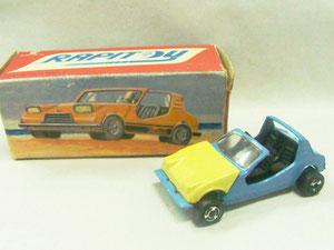 El número 3. Otro modelo propio. Un vehículo argentino de playa, llamado Puelche Iguana que poseía mecánica de Renault 4. (Foto propia)