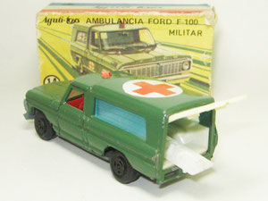 Nº 14 - Ford F100 Ambulancia Militar