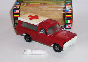 Nº 13 Ford F100 Ambulancia Bomberos