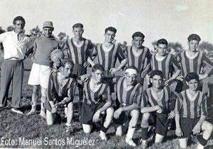 Equipo de fútbol de Huerga 1950