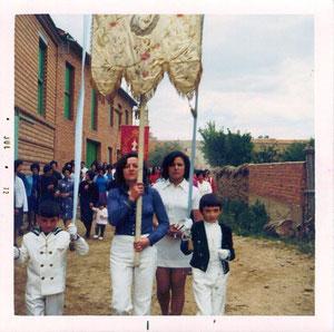 Procesión fiesta del Corpus años 70
