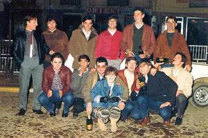 Nochevieja en La Bañeza años 80