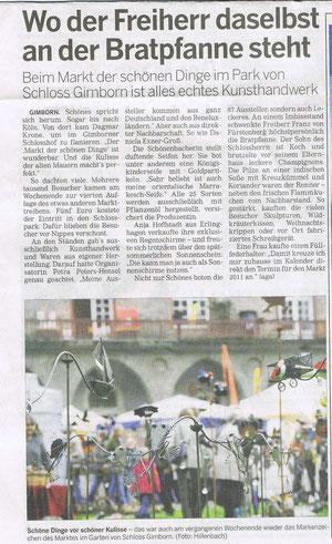 OVZ-Bericht vom 21.09.2010  Text  von Arnd Gaudich, Foto von Jürgen Hillenbach