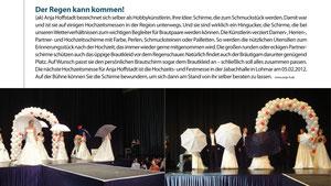 Ausgabe hera Hochzeit Heft-Nr. 6-2011, Verteiler NRW, Rheinland-Pfalz und Hessen