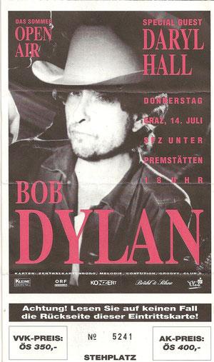 Bob Dylan - Never Ending Tour ´94 -  Unterprämstätten 14.Juli 1994