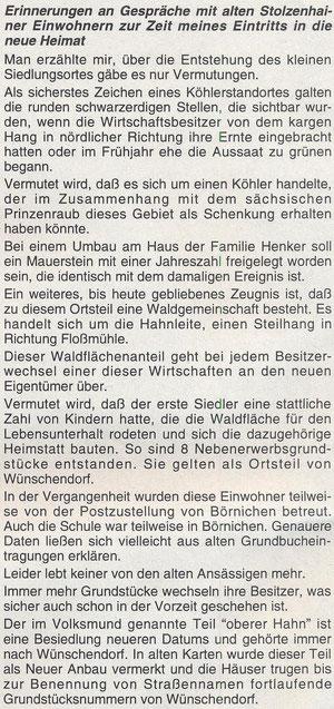 Bild: Wünschendorf Stolzenhain Drescher