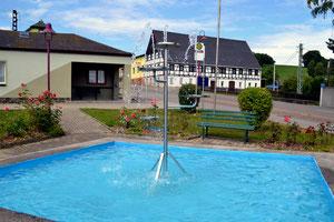 Bild: Wünschendorf Springbrunnen 2020