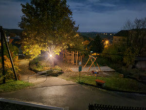 Bild: Wünschendorf Erzgebirge Spielplatz 2020