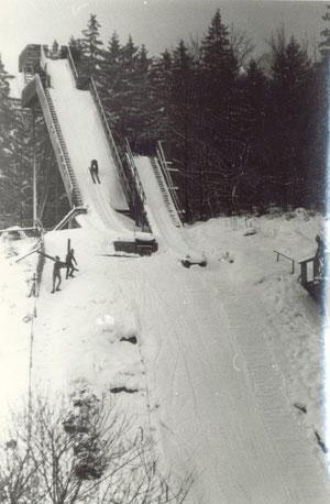 Bild: Wünschendorf Erzgebirge Sprungschanzen