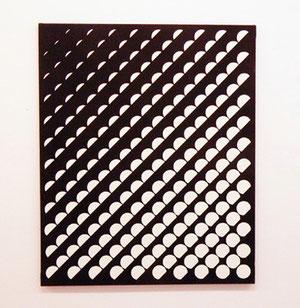 """Jeffrey Steele, """"o.T., 1960, Öl auf Leinwand, 91,5 x 76 cm"""