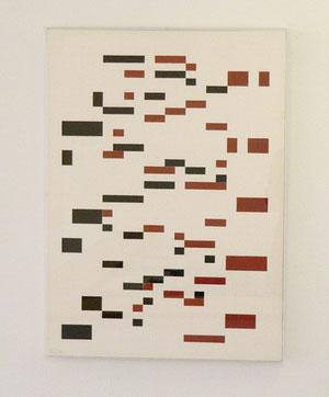 """Jeffrey Steele, """"o.T. Sg IV 92"""", 1997 - 2006, Zeichnung Bleistift u. Tempera in Plexibox, 59 x 42,4 cm"""